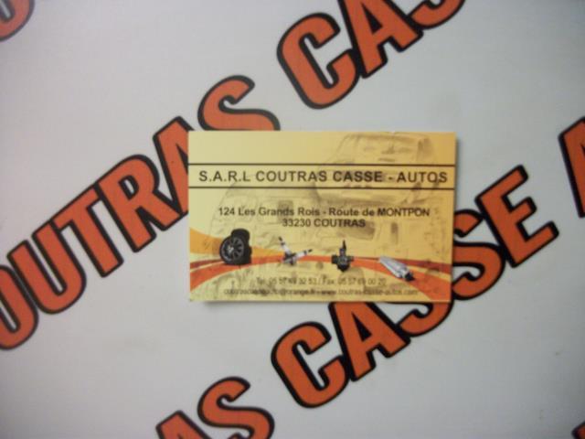 Logo SARL COUTRAS CASSE AUTO