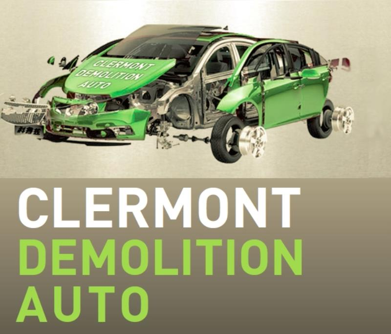 Logo Clermont Demolition Auto