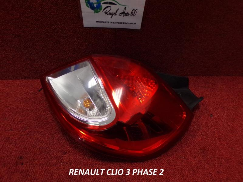 Feu Arriere Principal Droit Feux Renault Clio Iii Phase 2