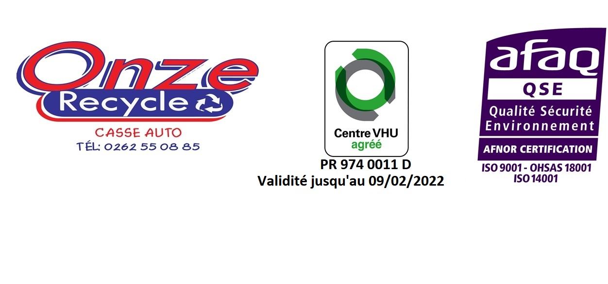 Logo ONZE RECYCLE