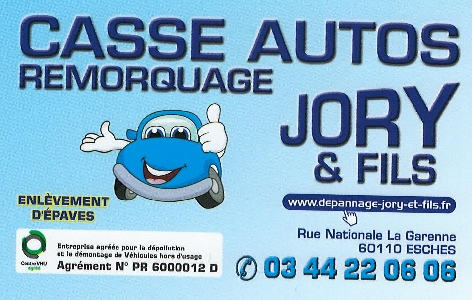 Logo CASSE AUTOS JORY FILS