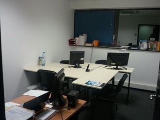 Les premiers bureaux d'Opisto en 2010