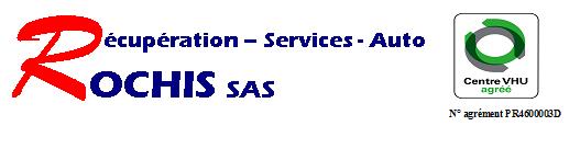 Logo RECUPERATION SERVICES AUTO ROCHIS SAS