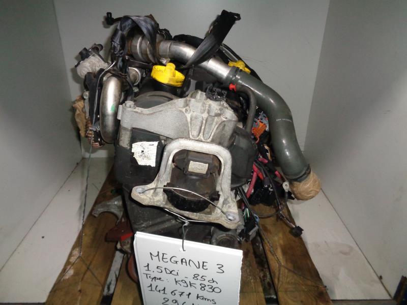 moteur renault megane iii phase 1 dci diesel. Black Bedroom Furniture Sets. Home Design Ideas